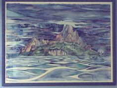 La mia isola (acquerello)