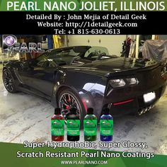 Pearl Nano Coated & Detailed By John Mejia of Detail Geek, visit theit Website: http://1detailgeek.com or call @ Tel: +1 815-630-0613.  Learn more about Detailing and Ceramic Coatings by visiting us @ Pearlnano.com #Pearlnaocoatings #JohnMejia #1detailgeek #JolietIllinois #pearlnano #ceramiccoating #jayjay #pearlusa