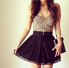 fashion, dress, and outfit-bild