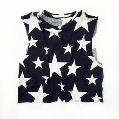 """Crop Muscle Tee  Muscle Crop Tee...The new basic for every """"Bad B"""". Available in 3 Non-Colors :) Black, White, & Starstruck=$ 19.00  https://cutebooty.com/collections/flash-sale/products/muscle-crop"""