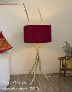 Lampe racines Caract¨re naturel par Benoit Galloudec