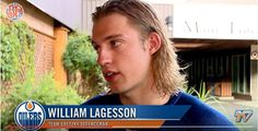 William Lagesson [Prospect]    Hometown:  Goteborg Sweden   Team:  Edmonton Oilers   Currently Playing In:  NCAA   Birthday:  1996-02-22   Position:  D     Eligible for draft:  2014   Shoots:   Left    Drafted:  2014   Height:  6-2    Acquired:  4th round (91st overall), 2014   Weight:  200 lbs