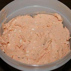 Rezept Knoblauch-Käse-Creme wie vom Feinkostladen von Dynamite - Rezept der Kategorie Saucen/Dips/Brotaufstriche