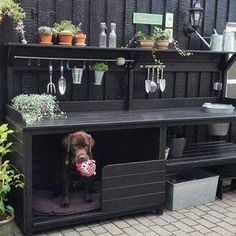 Outdoor Kitchen Ideas - Get inspired by these amazing and innovative outdoor kitchen design ideas Bbq Area, Outdoor Kitchen Design, Backyard Projects, Backyard Landscaping, Garden Inspiration, Garden Furniture, Outdoor Gardens, Kitchen Remodel, Kitchen Renovations