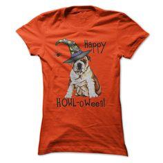 Halloween Bulldog T-Shirts, Hoodies. GET IT ==► https://www.sunfrog.com/Pets/Halloween-Bulldog.html?id=41382