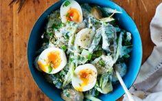 Parsa-perunasalaatti / Asparagus-potato salad
