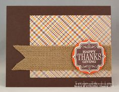 Thanksgiving Card Idea #handmade