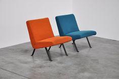 Joseph Andre Motte Artifort easy chairs 1955