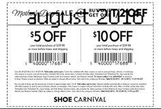 Shoe Carnival Coupons Ends of Coupon Promo Codes MAY 2020 ! Is stores of regions Carnival Midwest the footwear around in Shoe this th. Free Printable Coupons, Free Printables, Shoe Carnival, Hot, Free Printable