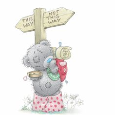Which way tatty teddy Tatty Teddy, Cute Images, Cute Pictures, Teddy Beer, Fizzy Moon, Teddy Bear Pictures, Blue Nose Friends, Bear Graphic, Love Bear