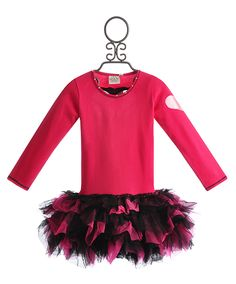 Ooh La La Couture Pink Heart Girls Birthday Dress