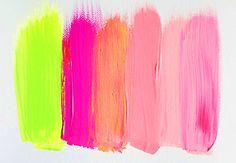 neon lime x pinks