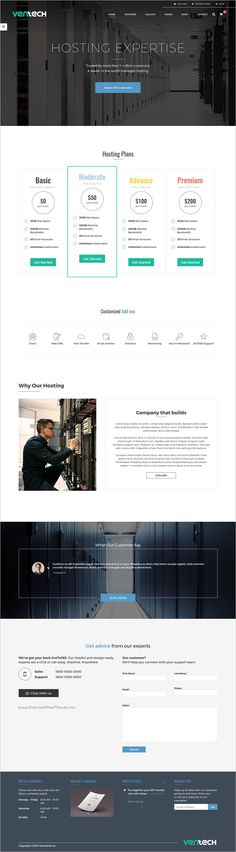 Ventech is a modern and minimal design multipurpose #bootstrap HTML5 template for stunning #hosting service website download now➩   https://themeforest.net/item/ventech-multipurpose-modern-minimal-responsive-html-5-templates/18717983?ref=Datasata