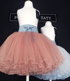 Dětská a dívčí tylová sukně s riflovým páskem. Cena 1899 Kč. c290b8871c5