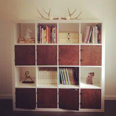 IKEA Hackers: Hacked IKEA bookshelf