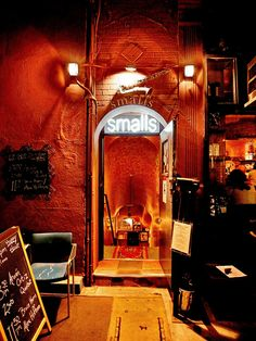 Mecca. Smalls Jazz Club - the quintessential jazz dive in Greenwich Village. As intimate as it gets...