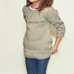 Ravelry: MILLIE sweater pattern by Courtney Spainhower