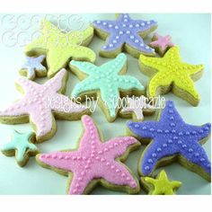 Starfish cookies - just bought this cookie cutter can't wait to make them.