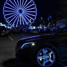 Shed light on a handbuilt, 5.5-liter AMG biturbo V-8.  #MBphotocredit @paid2shoot  #Mercedes #Benz #S63 #AMG #Sedan #instacar #carsofinstagram #germancars #luxury