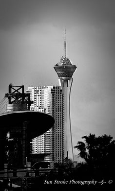 The famed Stratosphere in Las Vegas ... I did ride that drop zone on top and was incredible ... Please feel free to share my photography.    Sun Stroke Photography