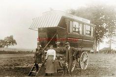new repro - nice old gypsy caravan vardo | eBay