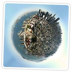 *How to Create Your Own Planets Using Your Panoramas* a photoshop tutorial from Photojojo