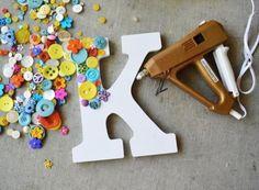 8 propuestas para decorar letras de madera ¡y personalizar tu decoración!