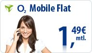 Grundgebühr nur 1,49€: o2 Flat Festnetz Flat o2 Homezone Optional: Inkl. Internet Flat 300 MB für 5€ mtl. mehr