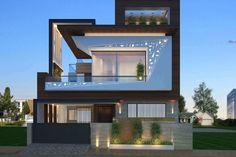 House Front Design, Modern House Design, Door Design, Modern Exterior, Exterior Design, Wall Exterior, Diy Exterior, Exterior Stairs, Exterior Siding
