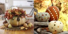 designs that inspire to create your perfect home: 20 Halloween pumpkin craft idea: Easy last minute!!