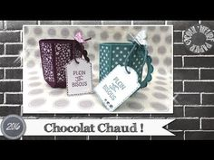 Coul'Heure Papier: Mug Chocolat Chaud ! [Tutoriel] Origami, Envelope Punch Board, Scrapbooking, Stampin Up, Creations, Frame, Mugs, Decor, Manualidades