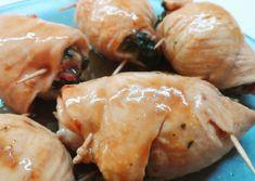 Involtini di pollo con spinaci e speck Difficoltà: facile Tempo esecuzione: 30m