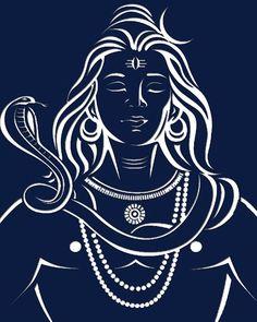 Lord Shankar - Maha Shivratri - Best Shivratri Wishes Wallpaper & Status Mahakal Shiva, Shiva Statue, Shiva Art, Hindu Art, Lord Shiva Sketch, Shiva Lord Wallpapers, Shiva Tattoo, Lord Shiva Painting, Lord Mahadev