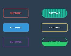 Web Design • CSS Buttons