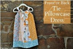 Free pattern: Pillowcase dress with a bow at the center front or back · Sewing | CraftGossip.com