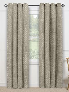 Rubis Cappuccino Curtains from Curtains 2go