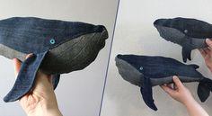 De vos vieux vêtements, vous pouvez les faire recycler, les déposer à une association au profit des sans-abris ou, leur redonner une seconde vie, pourquoi pas, comme baleine bleue ! C'est du moins l'idée d'une artisane qui La suite sur mrmondialisation.org