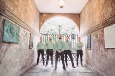 Groomsmen | The College of Charleston | Liz Duren Photography