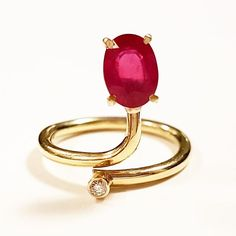 Ruby ring - Luciano Gobbo