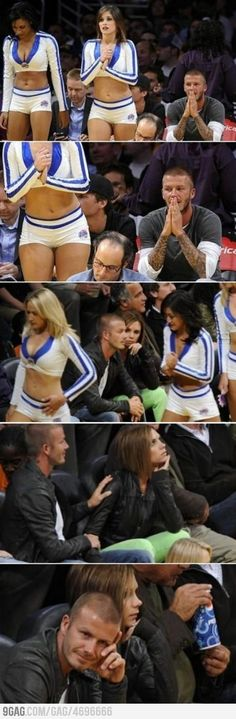ha - Beckham busted