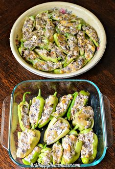 These Cheesy Sausage Stuffed Banana Peppers are not only delicious, but they are incredibly easy. I just love these stuffed peppers so much! Recipes With Banana Peppers, Sweet Banana Peppers, Banana Recipes, Canning Banana Peppers, Banana Pepper Dip, Hot Pepper Recipes, Sausage Appetizers, Appetizer Recipes, Dinner Recipes