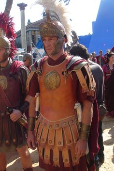 "The beautiful & charismatic James Purefoy as ""Marc Antony"" in ROME (HBO Ancient Rome, Ancient Greece, Ancient History, Rome Hbo, Rome Costume, Rome Tv Series, Roman Armor, James Purefoy, Roman Legion"