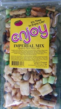 Japanese Arare Rice Crackers Imperial Mix