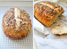 Seedy Artisan Bread - Warm Vanilla Sugar