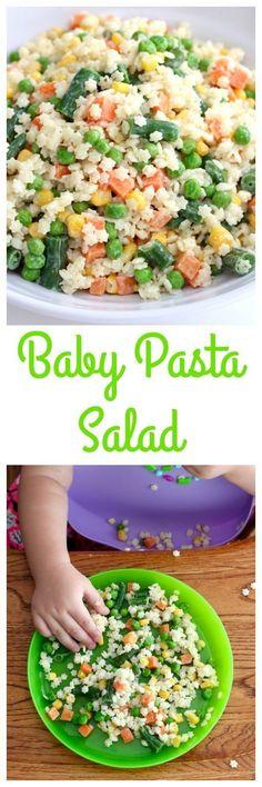 Baby Pasta Salad Recipe for Kids | The BakerMama