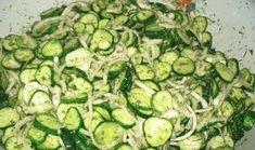 S tímto salátem zhubnete bez velké námahy: Chutná výborně, je bez cukru a je vhodný pro každého, kdo má problémy s trávením! Veggie Recipes, Low Carb Recipes, Salad Recipes, Vegetarian Recipes, Cooking Recipes, Healthy Recipes, Canes Food, Dieta Detox, Fermented Foods