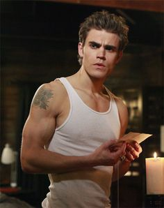 Paul Wesley --- The Vampire Diaries -- Stefan Salvatore