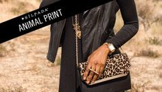 It's time to go wild for the animal-print jewels and accessories in our 2015 Fall/Winter Collection.