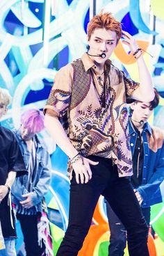 He's wearing Batik from Indonesia