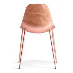 Opinion Ciatti Mammamia Stuhl chaise or en cuivre